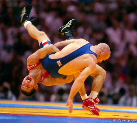 Wrestling at the 1996 Summer Olympic Games
