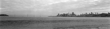 Bay Bridge and San Francisco skyline