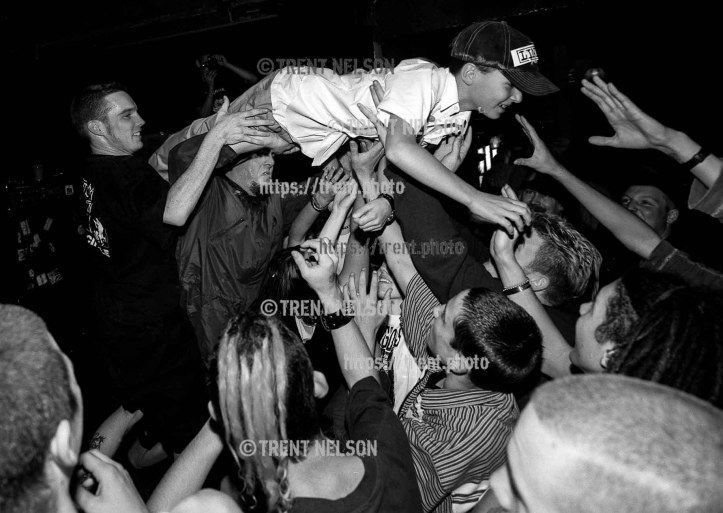 Link 80 at the Cocodrie Club. Little kid's first assisted stage dive.