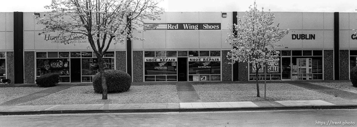 Boxy storefronts