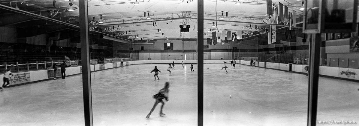 Interior of San Diego Ice Arena.