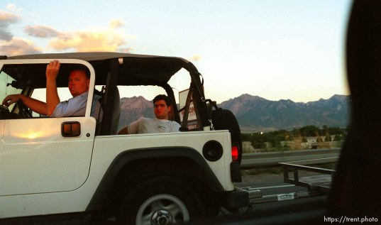 Utah drivers.