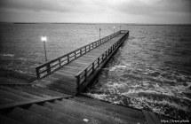 Fishing pier.
