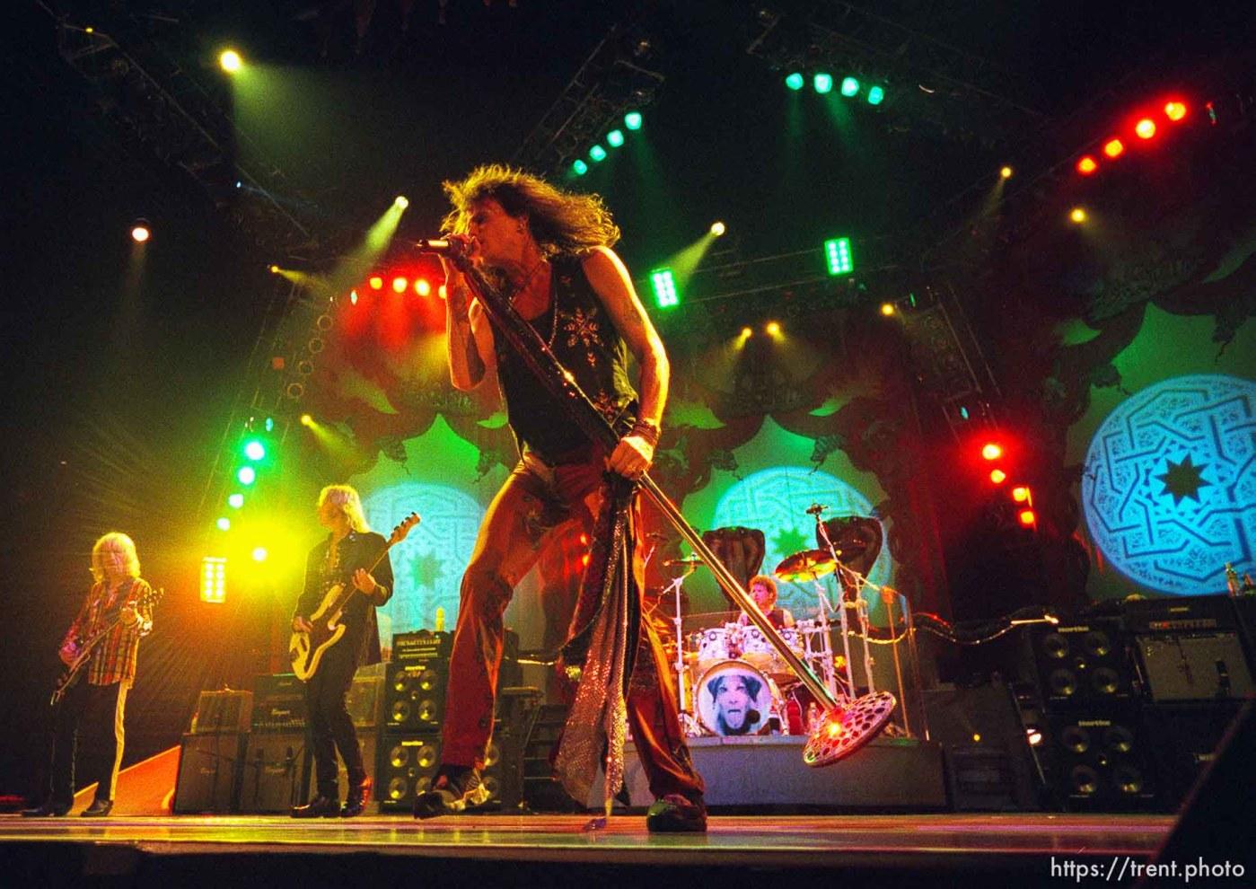 Aerosmith at the Delta Center.