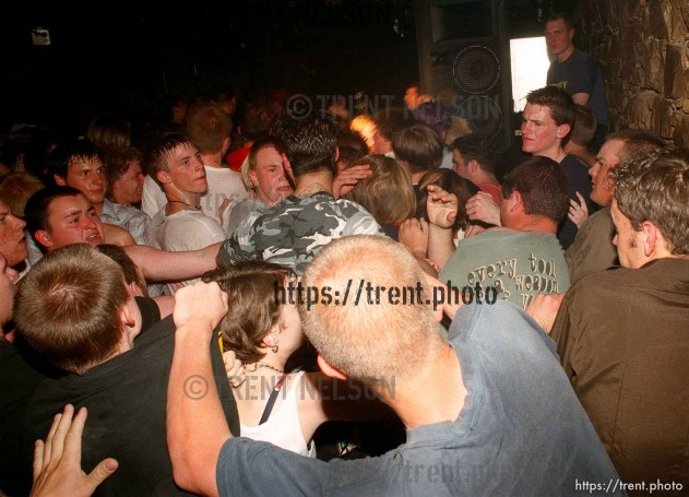 A fight at Suicide Machines at Club DV8