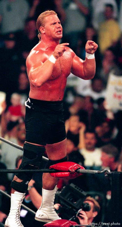 Curt Hennig at WCW's Bash at the Beach.