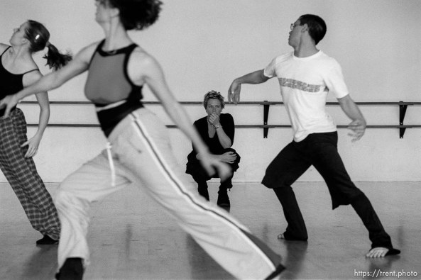 New York jazz choreographer Mia Michaels is choreographing a piece for the Utah Contemporary Dance Theater.