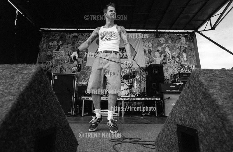 Dropkick Murphys at the Vans Warped Tour.