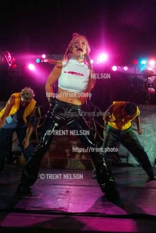 Britney Spears at the Utah State Fair.