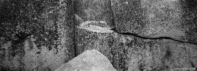 rock texture at Sword Lake
