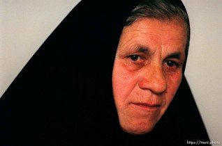 Serbian nun Teodosije Manksic.