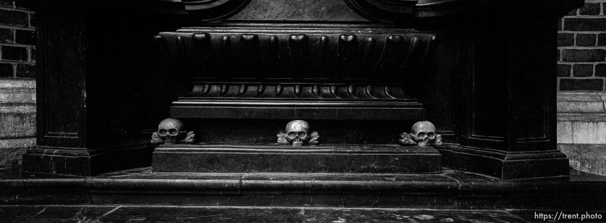 Skulls on the St. Marys Cathedral