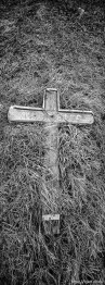Serbian grave in cemetery