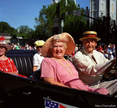 Days of '47 Parade portraits.