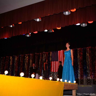 Miss Bear River Valley Pageant.