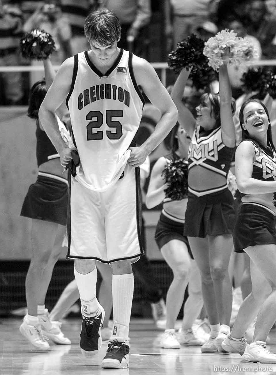 Creighton vs. Central Michigan, first round NCAA Tournament. ; 03.20.2003, 7:32:16 PM
