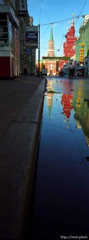 reflections of kremlin towers