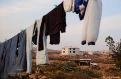 Laundry line. 12.04.2004