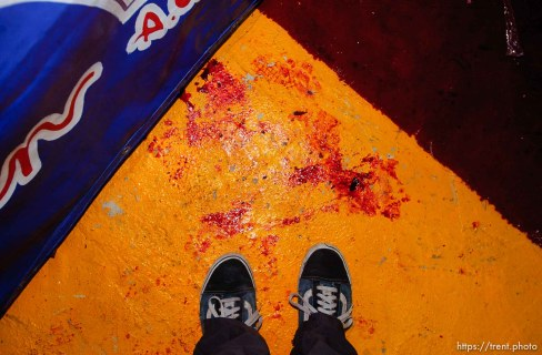 trent feet and blood. luche libre professional wrestling; 12.05.2004