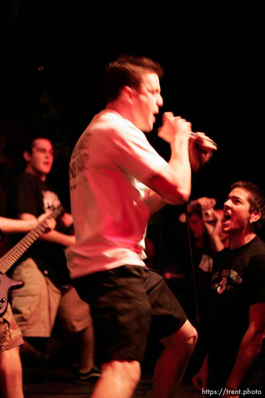 Dispute at gilman st. 4.16.2005