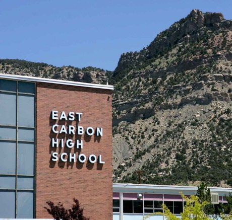The small town of Sunnyside's East Carbon High School is being closed. The students will be transfered to Price's Carbon High School, a 25-minute bus ride away.
