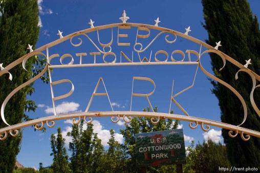 UEP Cottonwood Park. Colorado City, Hildale