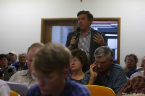 don timpson. Bruce Wisan, the court-appointed special fiduciary of the UEP trust, during a meeting in Hildale, Utah, to answer questions regarding property and tax issues.