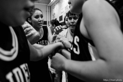 Whitehorse vs. Green River girls high school basketball. Green River wins. 12.21.2005