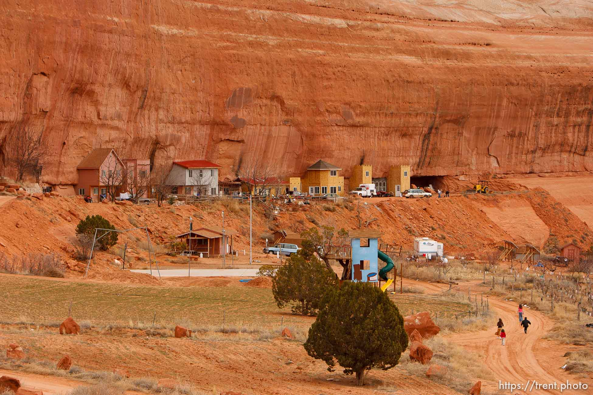 The Rock, a fundamentalist Mormon community south of Moab.