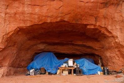 The Rock, a fundamentalist Mormon community south of Moab.