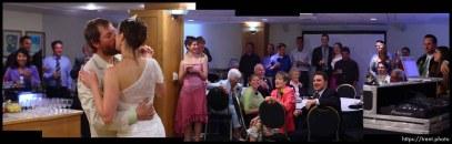 dance. Pete DeLuca and Kristy wedding