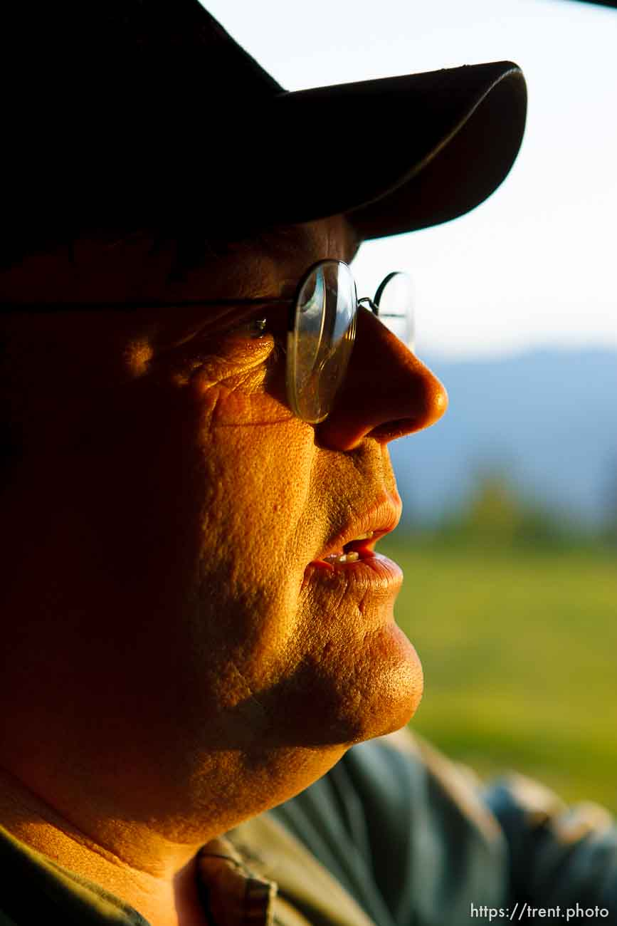 Polygamist Winston Blackmore in Bountiful, British Columbia.