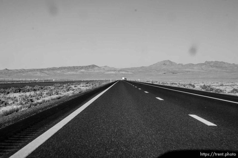 wreck, truck crash, driving from salt lake city to california
