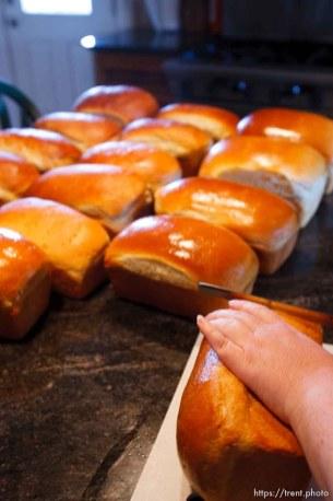Centennial Park - baking bread in a fundamentalist home. ; 7.25.2006