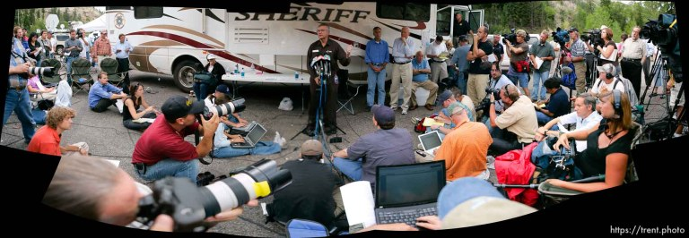 Crandall Canyon Mine Disaster – Press Conference