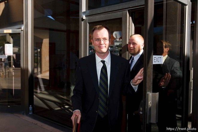 Brock Belnap. St. George - Warren Jeffs trial. The polygamous sect leader was charged with two counts of rape as an accomplice stemming from a marriage he officiated involving a 14-year-old girl and her 19-year-old cousin.