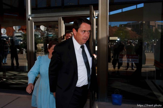 Joseph Jeffs. FLDS followers of Warren Jeffs. St. George - Warren Jeffs trial. The polygamous sect leader was charged with two counts of rape as an accomplice stemming from a marriage he officiated involving a 14-year-old girl and her 19-year-old cousin.