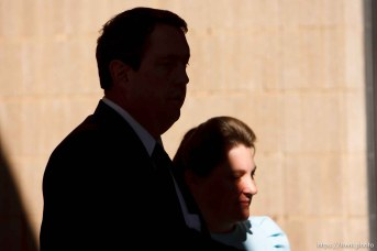 FLDS followers of Warren Jeffs. Joseph Jeffs. St. George - Warren Jeffs trial. The polygamous sect leader was charged with two counts of rape as an accomplice stemming from a marriage he officiated involving a 14-year-old girl and her 19-year-old cousin.
