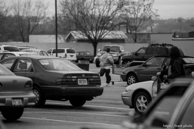 Riverdale - Riverdale Police Officer Casey Warren responded to a complaint of a suspicious man near a stolen vehicle in the parking lot of the ShopKo on Riverdale Road, Wednesday, December 19, 2007. As a shopper looked on and with firearm drawn, Warren ordered the suspect prone on the ground. Shortly after complying, the suspect stood up and ran off across the parking lot. He was chased and apprehended across the street as several other officers responded. This information from Lt. Scott Brenkman