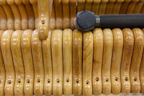 Eldorado - Tour of YFZ Ranch Thursday, June 26, 2008. wood shop