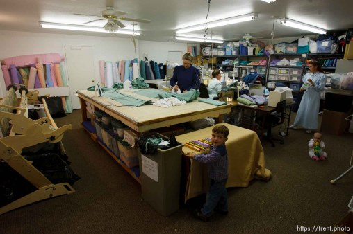 Westcliffe - . Monday, July 28, 2008. sewing room