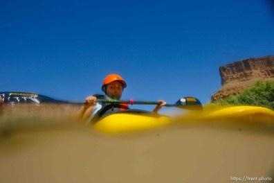 Kayaking at butler wash. roxana Orellana