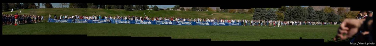 5A girls. Utah State High School Cross-Country Championships Wednesday afternoon in Salt Lake City's Sugarhouse Park.