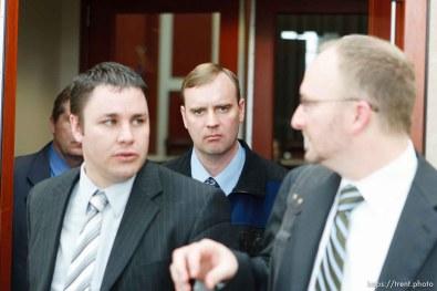Trent Nelson | The Salt Lake Tribune The Utah Supreme Court heard arguments in Salt Lake City, Utah, Tuesday, April 12, 2011, involving the FLDS Church's United Effort Plan (UEP) land trust. david darger