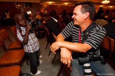 Trent Nelson | The Salt Lake Tribune Scott Winterton at the South Sudan Independence celebration in Salt Lake City, Utah, Saturday, July 9, 2011