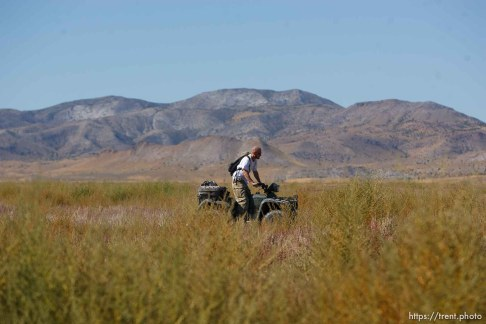 Trent Nelson | The Salt Lake Tribune Search for Susan Powell at Topaz Mountain, Utah, Wednesday, September 21, 2011.