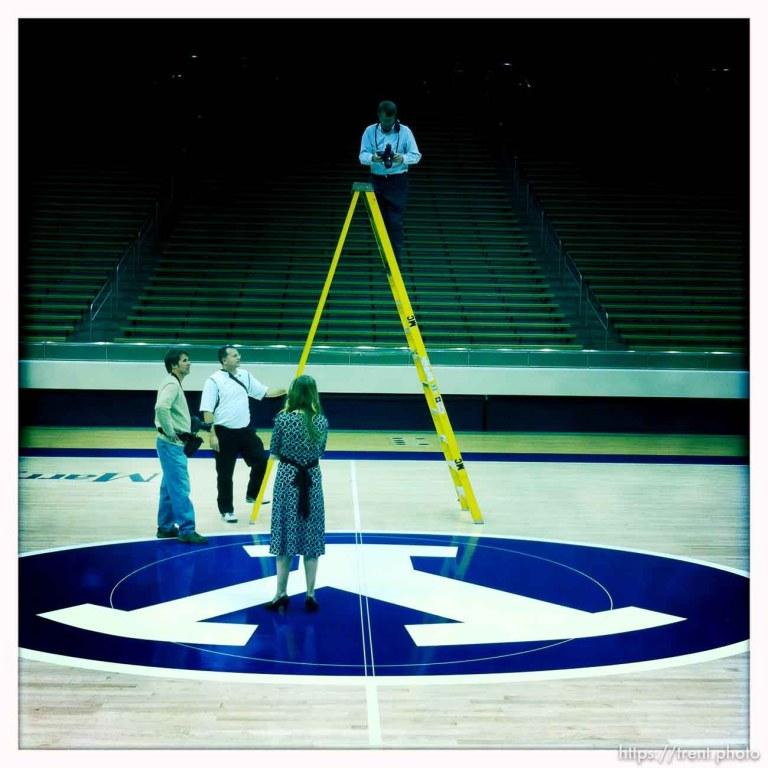 BYU Basketball Media Day