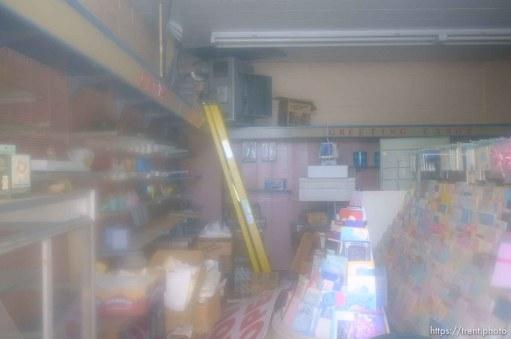 vincent drug store, abandoned. Thursday, June 14, 2012 in Midvale, Utah.