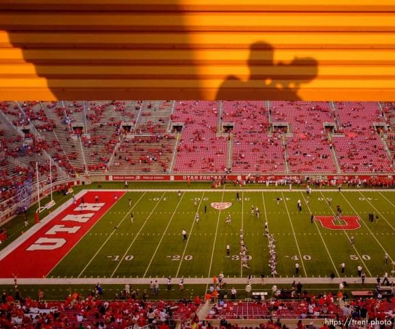 Trent Nelson | The Salt Lake Tribune as Utah hosts BYU college football in Salt Lake City, Utah, Saturday, September 15, 2012.