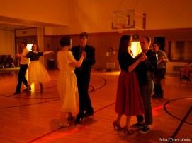Trent Nelson | The Salt Lake Tribune at a dance at the Salt Lake University Institute of Religion, Friday November 16, 2012 in Salt Lake City.